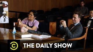 Outrage Court - Patriotism vs. Protest: The Daily Show
