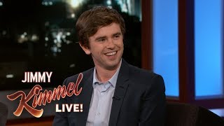 Freddie Highmore on Bates Motel, The Good Doctor & Living in Spain