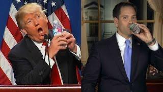 Trump mocks Rubio
