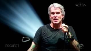 "Henry Rollins - LIVE ""Gays, Guns & Trump"" Australian Tv Interview Aug. 30 2016"
