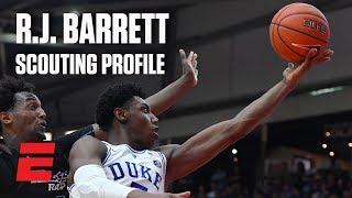 R.J. Barrett preseason 2019 NBA draft scouting video | DraftExpress