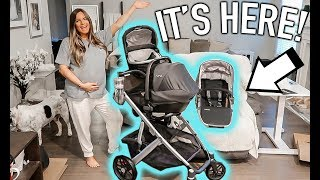 OUR STROLLER IS HERE! UNBOXING AND FIRST IMPRESSION  | Casey Holmes Vlogs