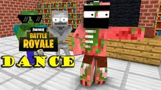 Monster School : Fortnite Dance Challenge - Minecraft Animation