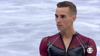 PyeongChang2018 - ADAM RIPPON - MEN SINGLE SKATING SHORT PROGRAM - Music: Let Me Think About It