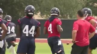 Deshaun Watson turning heads at Texans Mini Camp