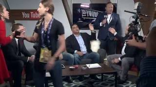 Alex Jones And Roger Stone Interrupt The Young Turks Republican National Convention Coverage