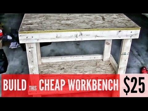 build workbench garage