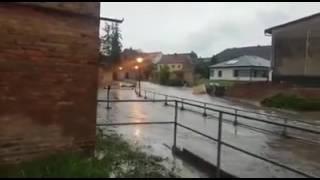 Unwetter in Nemsdorf-Göhrendorf (Saalekreis)