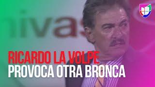 Ricardo La Volpe provoca otra bronca al ponerle el pie a Jesús Sánchez