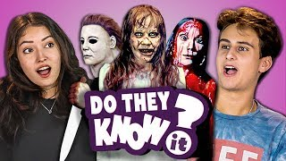 DO TEENS KNOW 70s HORROR MOVIES? (REACT: Do They Know It?)