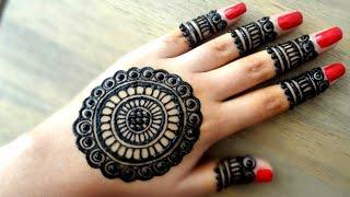 Mehndi Art Simple : Simple arabic mehndi art designs for hands new latest