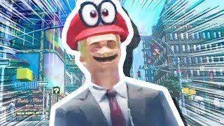 MARIO TURNS INTO A HUMAN!!! (Super Mario Odyssey #4)