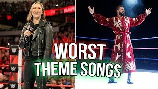 10 Wrestlers Entrance Theme Songs That SUCK