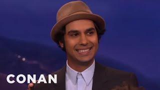 "The Cast Of ""The Big Bang Theory"" Loves To Rag On Kunal Nayyar  - CONAN on TBS"