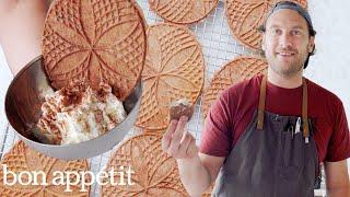 Brad Makes Sourdough Pizzelle Cookies | It