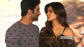 Sushant Singh Rajput 'Finally' Admits That He Is In Love With Kriti Sanon | SpotboyE