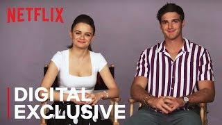 Joey King & Jacob Elordi American vs. Australian Word Battle   The Kissing Booth   Netflix