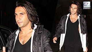 Ranveer Singh Says BYE-BYE To Padmavati Look!   LehrenTV