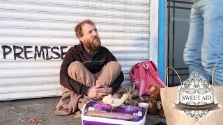 HOMELESS LISTENING TO THE QURAN - England