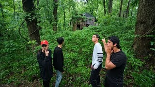 We found a haunted witch house...