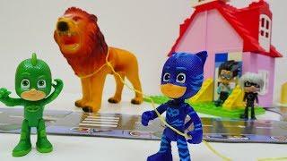 Einsatz für die Pyjamahelden - PJ Masks Toys - Wir müssen die Tiere im Zoo wieder einfangen