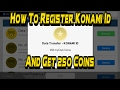 How To Register Konami Id And Get 250 Co...mp3
