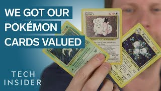 We Got Our Pokémon Cards Valued