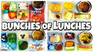 HOT LUNCHES and NO SANDWICHES!🍎 School Lunch Ideas for KIDS