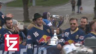 Sensationell! Der EHC Red Bull München holt schon wieder den Pott!