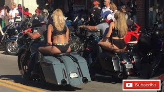 2018 Daytona Beach Bike Week Maine Street Shenanigans