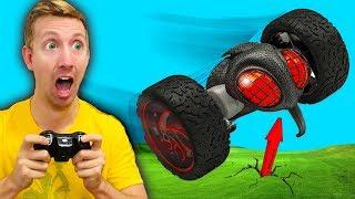 RC Car VS Girlfriend Challenge! (Jump, Crash & Fail Battle in Real Life!)