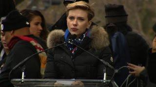 Scarlett Johansson to Trump: Support all women