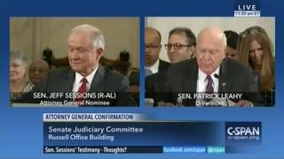 Video: Sen. Sessions Answers the