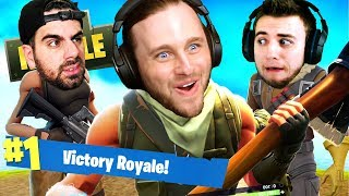 THE SCAR IS OP!! Fortnite Battle Royale HIGH KILL SQUAD WINS!