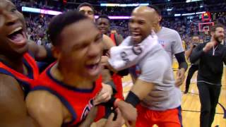 Russell Westbrook NBA RECORD 42ND TRIPLE DOUBLE Full Game Highlights | April 9, 2017