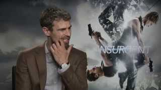 Theo James talks sex positions in raunchy Insurgent interview
