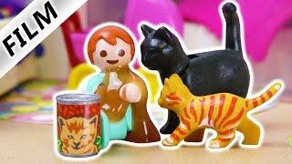 Playmobil Film deutsch   EMMA ISST KATZENFUTTER   Kinderserie Familie Vogel