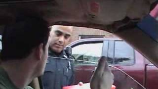 Cop doesnt know the law