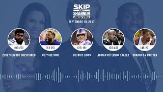 UNDISPUTED Audio Podcast (9.19.17) with Skip Bayless, Shannon Sharpe, Joy Taylor   UNDISPUTED