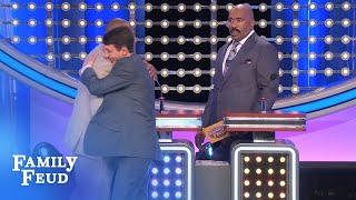 Carson and Jesse AGREE!   Family Feud