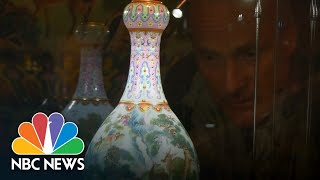 Chinese Vase Kept In A Shoebox Sells For $19 Million   NBC News