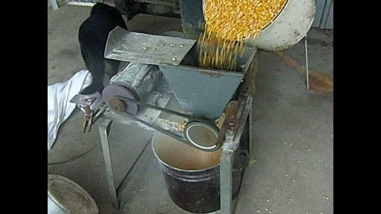 Сделать своими руками зернодробилку