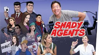 Off The Record: Playing Shady Agents ft. Steve Greene & DavidSoComedy