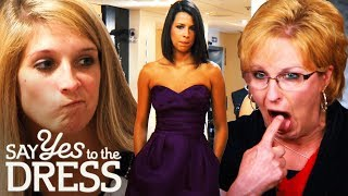 Bride & Mother in Law Clash Over Bridesmaid Dresses! | Say Yes To The Dress Bridesmaids