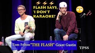 Grant Gustin says,