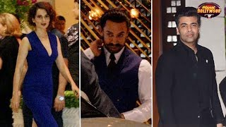 Kangana, Aamir, Sridevi, Karan, Rajkummar & Others Attend Ambani's Party   Bollywood News