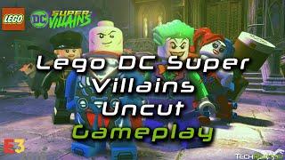 Lego DC Super Villains   Gameplay Demo Walkthrough   E3 2018