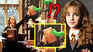 4 lächerlich aussehende Film-Szenen (vor Computer-Effekten)