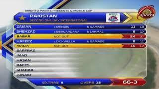 Pakistan vs Sri Lanka 2nd ODI 2017 Highlights || Pakistan vs Sri lanka Full Highlights of 15 Overs