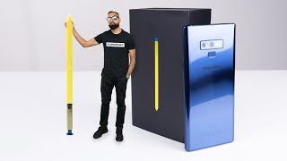 Samsung Galaxy Note 9 UNBOXING (Ocean Blue)